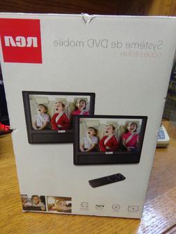 "RCA 9"" Dual Screen Mobile Car DVD Player Portable  - DRC7998"