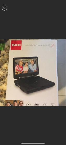 9 portable dvd player brand new