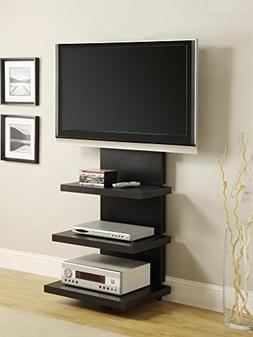 "Ameriwood Home Elevation TV Stand for TVs 60"" Wide, Black"