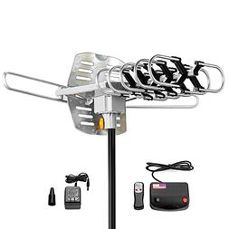 Amplified HD Digital Outdoor HDTV Antenna 150 Miles Long Ran