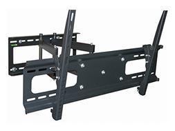 Black Full-Motion Tilt/Swivel Wall Mount Bracket for JVC LT-