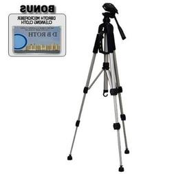 "Deluxe 57"" Camera Tripod with Carrying CaseFor The Sanyo Dua"