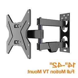 FLEXIMOUNTS TV Wall Mount Bracket Most 17-42 inch TV Full Mo