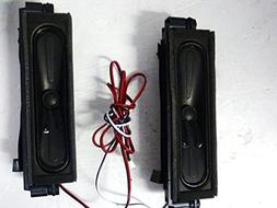 "Hitachi 50"" LED Hdtv Le50h508 Left / Right Speaker Set Ydt41"