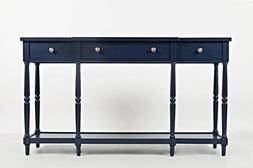 """Jofran: 1633-60, Stately Home, 60"""" Console, 60""""W X 14""""D X 34"""