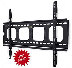 Mount-It! MI-305L Premium Low-Profile Fixed TV Wall Mount Br