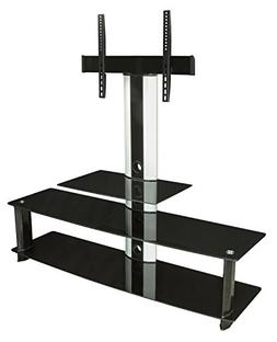 Mount-It! MI-869 TV Stand with Mount, Entertainment Center f
