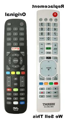 New USB Universal Remote for JVC RM-C3327 Remote Smart TV -