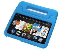 Pwr+ 2014 Fire HD 6 Case - Kids Shock Proof Convertible Hand