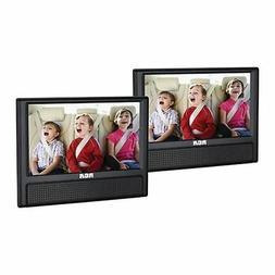 "RCA 9"" Dual Screen Mobile DVD Player"