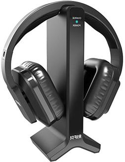 RIF6 RF43 Digital Wireless Over-Ear Headphones with Transmit
