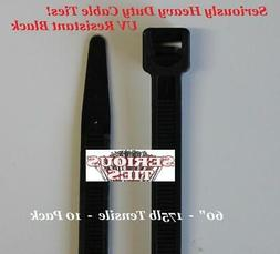 Serious Ties - Extra Heavy Duty Cable Ties