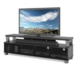 Sonax B-003-RBT Bromley 75-Inch 2 Tier TV Bench, Ravenwood B