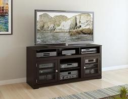 Sonax TWB-206-B West Lake TV Stand Component Bench Media Sto