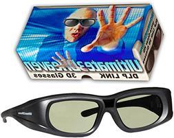 Ultra-Clear HD 144 Hz DLP LINK 3D Active Rechargeable Shutte