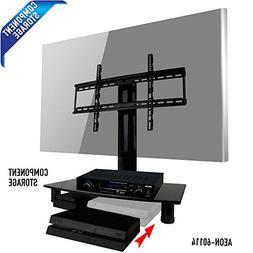 Universal TV Stand with Storage - fits Samsung, Vizio, LG, S
