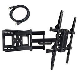 VideoSecu MW380B3 Full Motion Articulating TV Wall Mount Bra