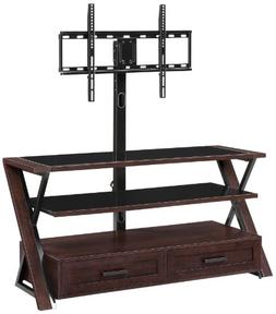 Whalen Furniture XLDEC54-NV 3-in-1 Flat Panel Entertainment