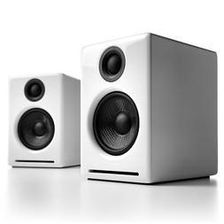 a2 premium powered desktop speakers pair