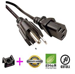 AC Power Cord Cable For E551VA E321VL Widescreen LCD LED HDT