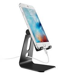 HCOBCK Adjustable Cell Phone Stand,Tablet Stand Holder  Alum