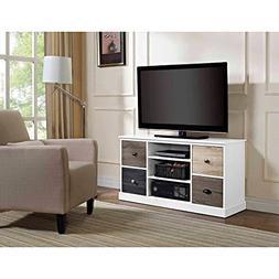 Altra Mercer Storage TV Console with Multicolored Door Front