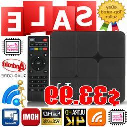 Android 7.1 Smart TV BOX S905W 8GB KD18.0 Quad Core WIFI Blu