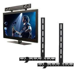 Any TV Mount Soundbar Bracket for Above or Below TV Fit Sams
