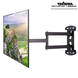 Articulating Full Motion TV Wall Mount Tilt Swivel 180° For