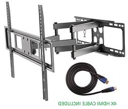 "Jestik Articulating Full Motion TV Wall Mount For Most 37""-7"