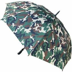 RainStoppers Auto Open Umbrella, Camouflage, 60-Inch