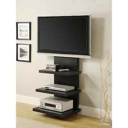 Avenue Greene Loft Black TV Stand for TVs up to 60 inches wi