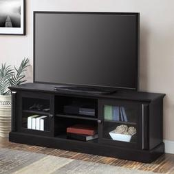 """Barston Media Console for TVs up to 70"""" l Adjustable Shelves"""
