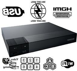 HDI BDP-S3700E Sony High Res Audio - Built-in WiFi - Multi S