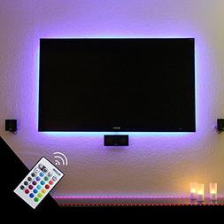 BASON LED Bias Lighting for 90 to 105 Inch TV Backlight Home