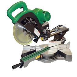"Hitachi C10FSHPS 10"" Sliding Dual Compound Miter Saw with La"