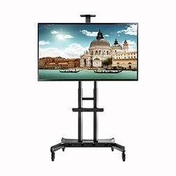 "NORTHBAYOU CA70 Multi-Functional Mobile TV Cart for 50"" - 80"