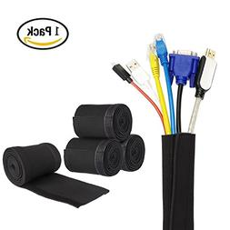 Cable Management Sleeve, Cable Concealer from YaFex 80inch 2