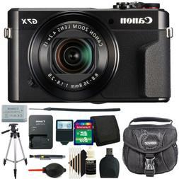 Canon G7X Mark II PowerShot 20.1MP Digital Camera + Deluxe B