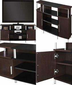 "Ameriwood Home Carson TV Stand for TVs up to 70"" Wide  Cherr"