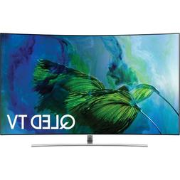 "55"" Class Smart Curved QLED 4K Quantum Dot TV With Wi-Fi"