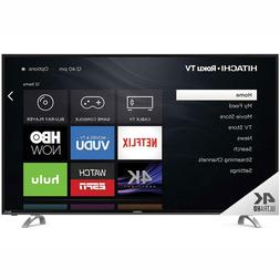 "Hitachi 55"" Class 4K UHD HDR TV with Roku TV - R80 Series"