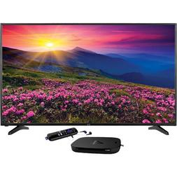 "49"" Class 4K UHD LED TV With Roku 4 Streaming 4K Player"