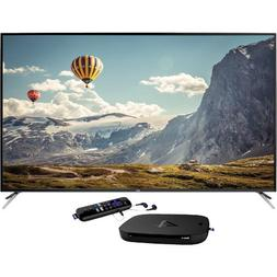 "65"" Class LED 4K Ultra HDTV With Roku 4 Streaming 4K Player"