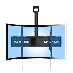 Loctek CM3 Full Motion Ceiling Curved TV Mount Fits Most 32""