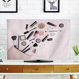 Philiphome Cord Cover for Wall Mounted tv a Pink Makeup Bag