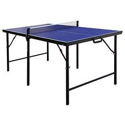 Hathaway BG2305 Crossover 60-in Folding Portable Table Tenni
