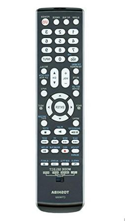 Original Toshiba CT-90302 LCD TV Remote Control, P/N 7501093