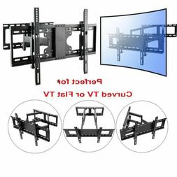 "Curved TV Wall Mount Bracket LED LCD 4K for Samsung LG 42"" 4"