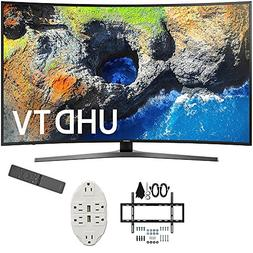 "Samsung 54.6"" Curved 4K Ultra HD Smart LED TV 2017 Model  wi"